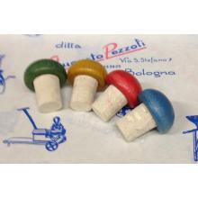 Tappo a Fungo Testa Colorata